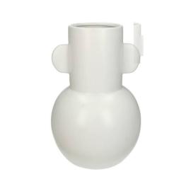 Witte vaas - Fine Earthenware