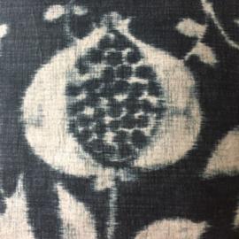 Kussen blauw batik -  Eijffinger 50x50cm