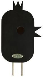 Zwart vogelhuisje - Esschert Design