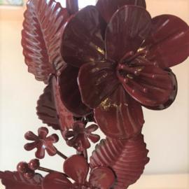 PT Flowers kandelaar - roodbruin