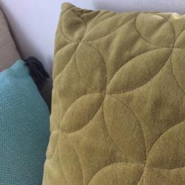 Kussen Groen Fluweel - Linen & More
