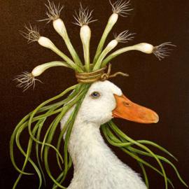 PPD Servetten - Eend met lente uitjes
