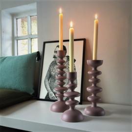 Affari kandelaars roze