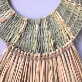 Zeegras wanddecoratie