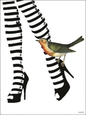 Vanilla Fly Poster - Hot Legs - 30x40 cm - VERKOCHT