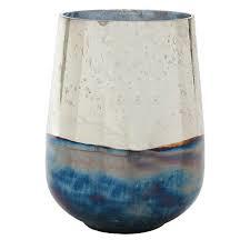 Glazen vaas met spiegeleffect