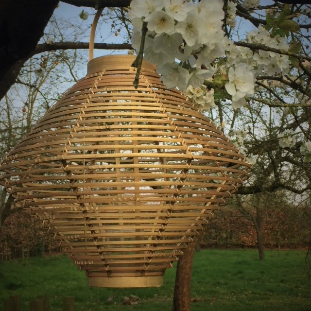 Bamboo windlicht