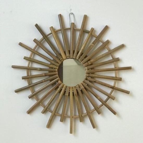 Bamboe spiegel, Vaas & Pot