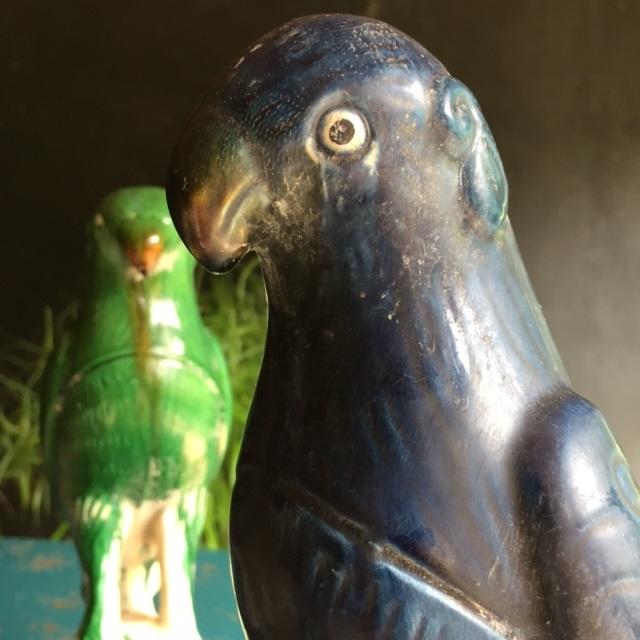 Papegaai keramiek - 31 cm