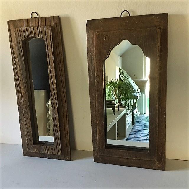 Houten spiegels - Affari of Sweden