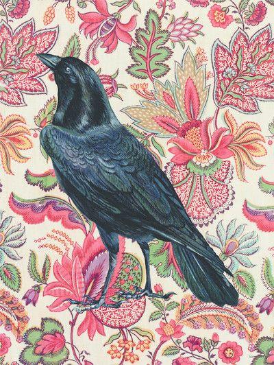 Vanilla Fly Poster - Flower Raven - 30x40 cm