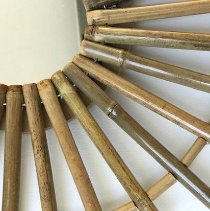 Goede Bamboe spiegel, Pot & Vaas EW-67