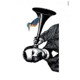 Vanilla Fly Poster - Listen - 30x40 cm
