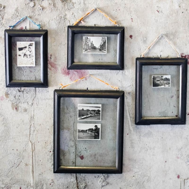 Fotolijst Kariba  glas &  zwart metaal - Nkuku
