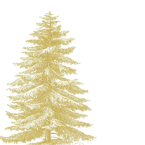 PPD Servetten Kerstboom