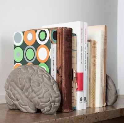 Brain grey matter betonnen brein boekensteun Lyon Beton The Finch.jpg