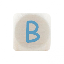 Letterkraal B Blauw