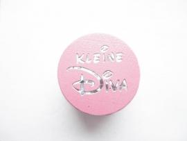 Speenkoord Kraal Kleine Diva Roze 20mm