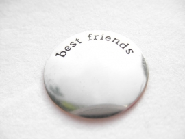 Memory Lockets Plate  - Best Friends