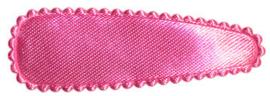 Haarkniphoesje Satijn Roze 5cm