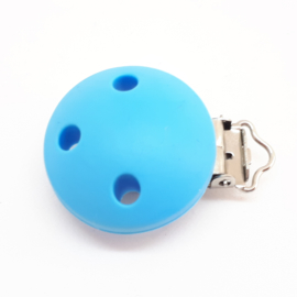 Speenclip Silicone Sky Blauw
