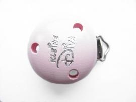 Speenclip Kleine Diva Pastel Roze