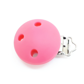 Speenclip Silicone Raspberry Pink