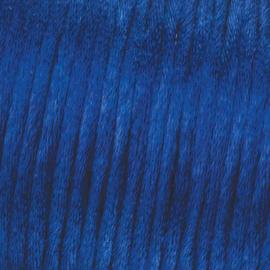 Satijnkoord Donker Blauw 0.5 meter