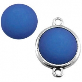 12mm Cabochon Mat Sapphire Blauw voor in setting