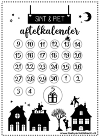 Sinterklaas Aftelkalender 2021