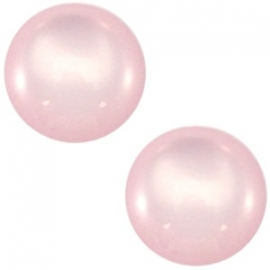 12mm Cabochon Licht Roze voor in setting