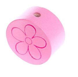 Schijfkraal Bloem Licht Roze 20mm