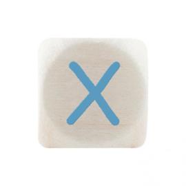 Letterkraal X Blauw