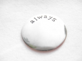 Memory Locket Plate - Always