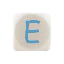 Letterkraal E Blauw