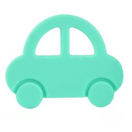 Silicone Bijt Auto Mint Groen