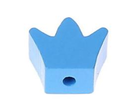Speenkoord Kraal Kroontje Baby Blauw 18x16mm