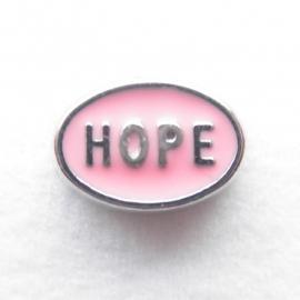 MC058 Hope ovaal Licht Roze