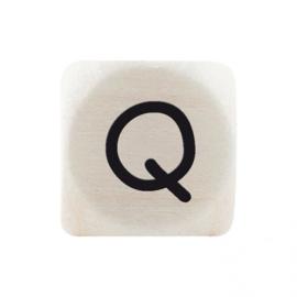 Letterkraal Q Zwart