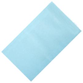 Kadozakje Kraft Licht Blauw 12x19cm | Per 5 stuks
