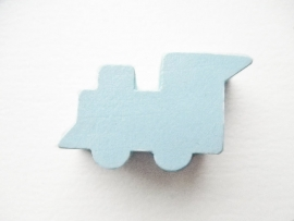 Locomotief Pastel Blauw 14x27mm