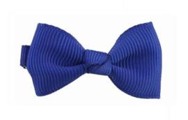 Haarspeldje Donker Blauw 4.5 x 2.5cm