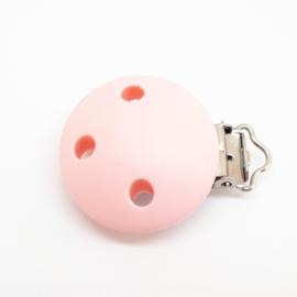 Speenclip Silicone Candy Licht Roze