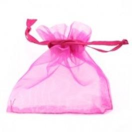 Organza cadeauzakje Fuchsia Roze