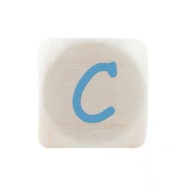 Letterkraal C Blauw