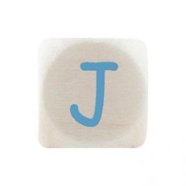 Letterkraal J Blauw