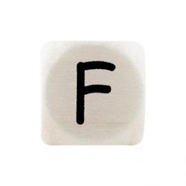 Letterkraal F Zwart