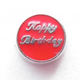 MC019 Happy Birthday Rood