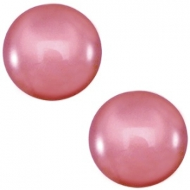 12mm Cabochon Oud Roze voor in setting