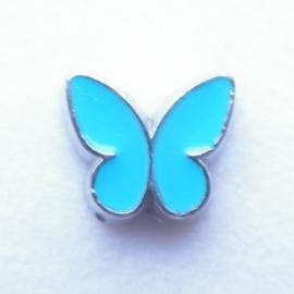MC074 Vlinder Blauw
